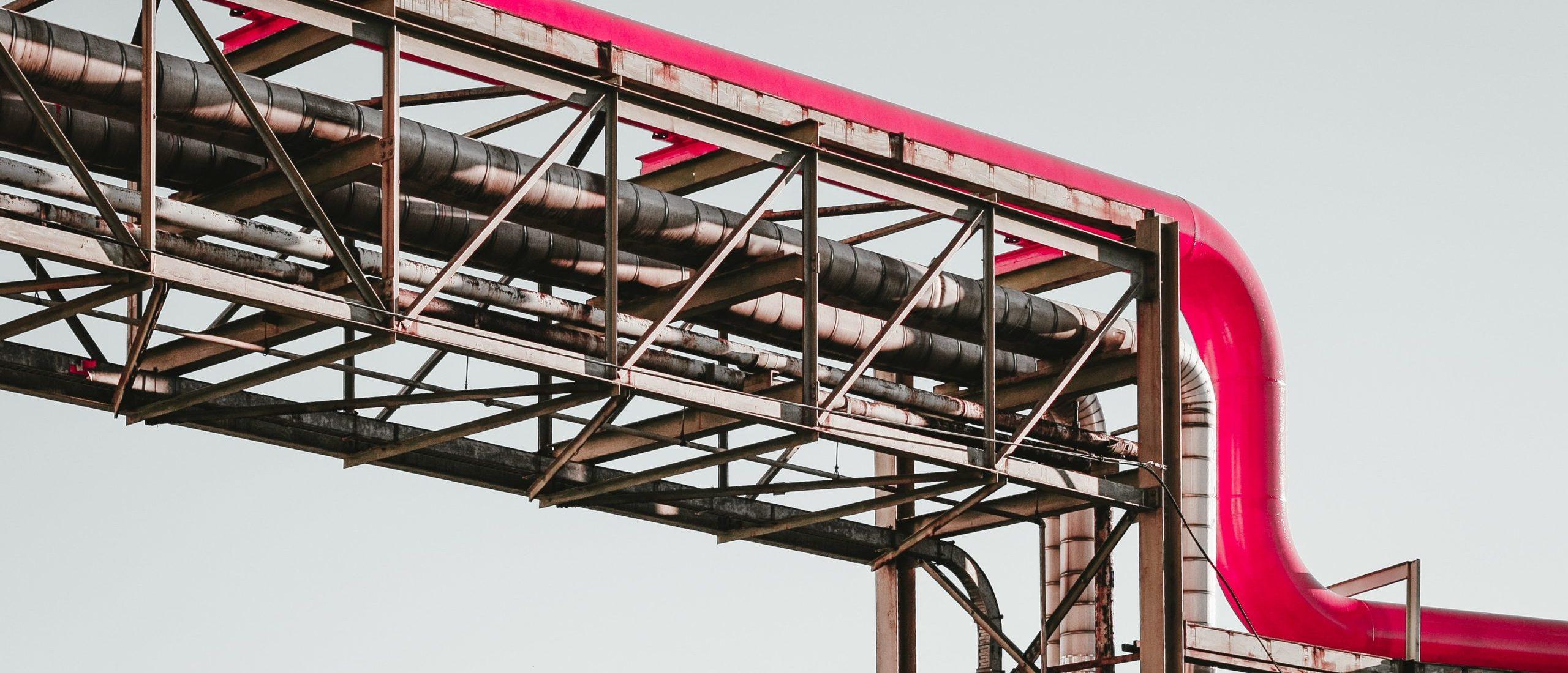 Estructura con tubería